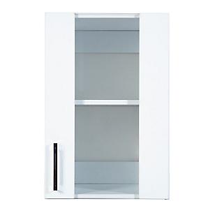 Mueble Alto 40 cm con Vidrio Blanco