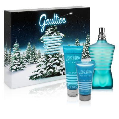 Jean Paul Gaultier Set Perfume de Hombre Le Male EDT 125 ml + Gel de Ducha 75 ml + B&...
