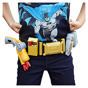 Cinturón con Lanzador y Accesorios Batman