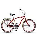 Bicicleta de Paseo Crusier Aro 26 Rojo