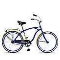 Bicicleta de Paseo Crusier Aro 26 Azul
