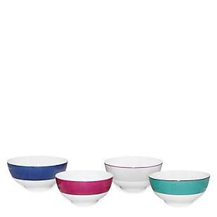 Set Bowls Bone China x 4