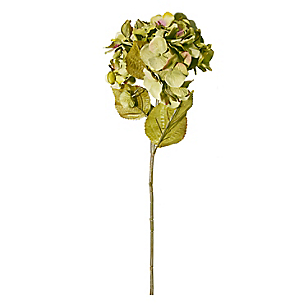 Flor Hydrangea Verde 80 cm