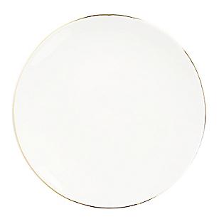 Plato Ensalada 21cm Gold 2tone