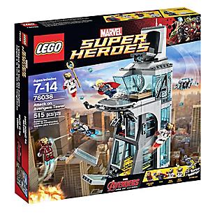 Set Marvel Super Heroes Ataque a la Torre de Los Vengadores