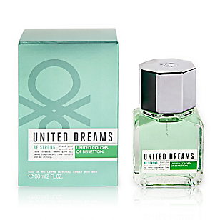 Fragancia United Dreams Men Be Strong Edt 60 ml