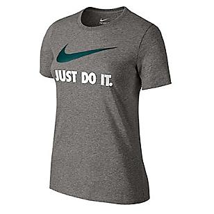 Camiseta Just Do It Swoosh Negro