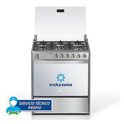 Cocina a gas indurama 6 quemadores padova for Cocina 6 quemadores