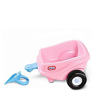 Trailer Cozy Coupe de Princesa