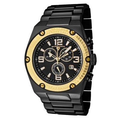 Swiss Legend Reloj de Acero para Hombre