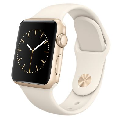 Apple Reloj Watch Sport 38mm Dorado
