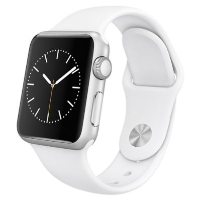 Apple Reloj Watch Sport 38mm Silver y Blanco