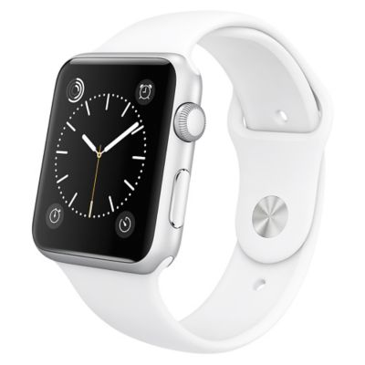 Apple Reloj Watch Sport 42mm Silver y Blanco