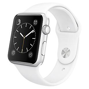 Reloj Watch Sport 42mm Silver y Blanco