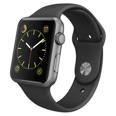 Apple Reloj Watch Sport 42mm Space Gray Negro