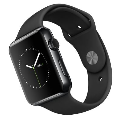 Apple Reloj Watch 42 mm Negro Espacial