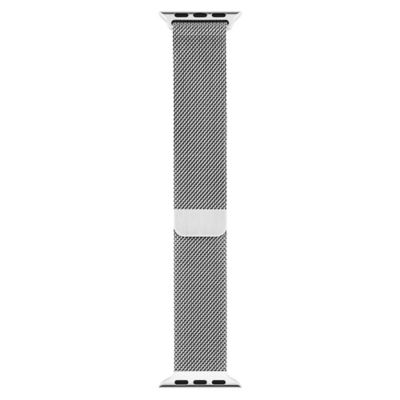 Apple Correa para Watch 42mm Silver Milanese Loop