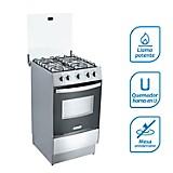 Cocina a Gas 4 Quemadores CX511 Inox