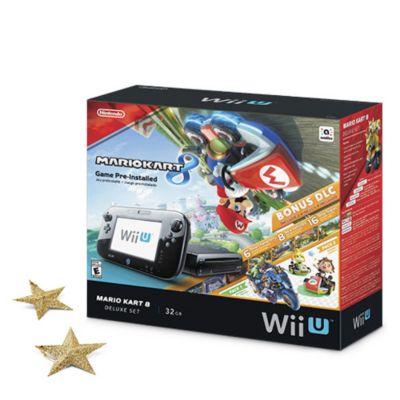 Nintendo Pack Consola Wii U Mario Kart 8 Deluxe Set