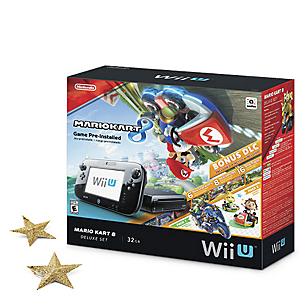 Pack Consola Wii U Mario Kart 8 Deluxe Set