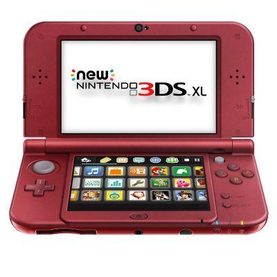 Nintendo Consola Port&aacutetil New Nintendo 3DS XL Roja