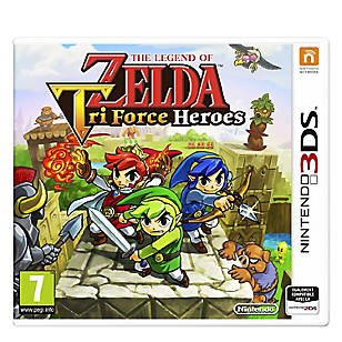 Videojuego 3DS The Legend of Zelda: Tri Force Heroes