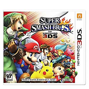 Videojuego 3DS Super Smash Bross