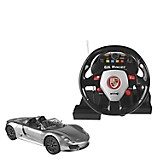 Auto Porsche Spyder 118 con Timón