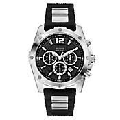 Reloj Caballero Silicona Negro