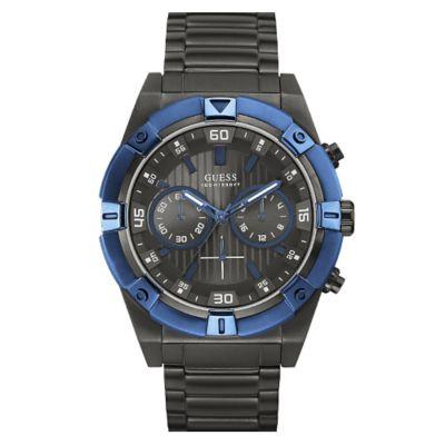 Guess Reloj Caballero Acero Negro