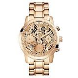 Reloj Dama Acero Oro Rosa