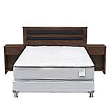 Set de Dormitorio Colchón Style 4 + Cabecera Castelo + 1 velador