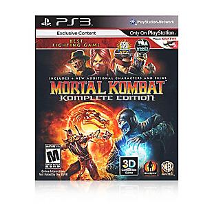 Videojuego Mortal Kombat 9 Komplete Edition para PS3