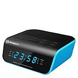 Radio Reloj Despertador CR2060 Azul