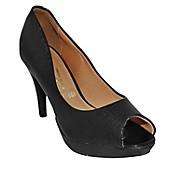 Zapatos de Vestir Mujer Linho Negro