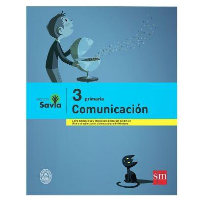 Ediciones SM Libro de Texto Primaria Savia Comunicaci&oacuten 3