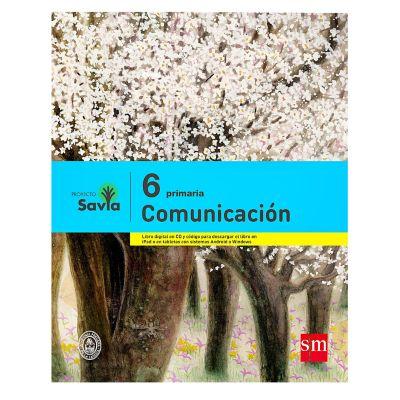 Ediciones SM Libro de Texto Primaria Savia Comunicaci&oacuten 6
