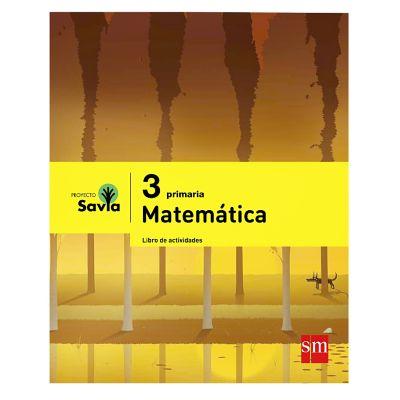 Ediciones SM Libro de Actividades Primaria Savia Matem&aacutetica 3