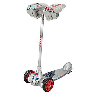 Scooter Junior Robo Kix Silver