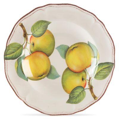 Evento Italia Plato para sopa 25 cm Manzanas