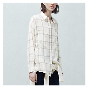 Camisa Mujer Easy a Cuadros