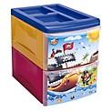 Organiza X 2 Niveles Piratas Azul