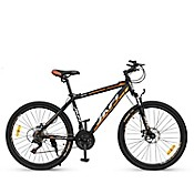 Bicicleta Montañera  Galaxy Aro 26 Negro / Naranja