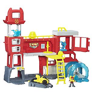 Transformers Rescue Bots Estación de Bomberos