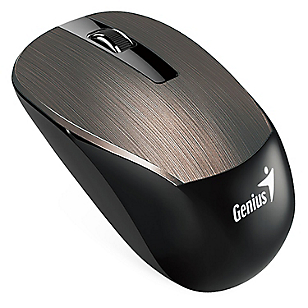 Mouse Inalámbrico NX-7015 Marrón