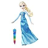 Figura Frozen Crystal Glow Doll Set