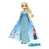 Figura Princesa Frozen Capa Mágica