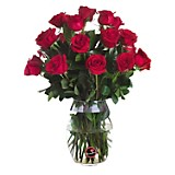 Vidrio con 25 Rosas