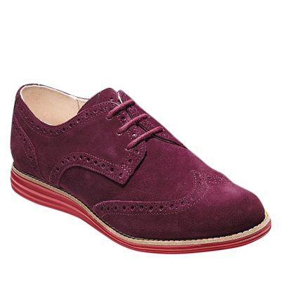 Cole Haan Zapatos Vestir Mujer CH Lunargrand W00608 Vino