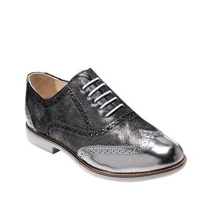 Cole Haan Zapatos Vestir Mujer CH Gramercy OX W00724 Plateado